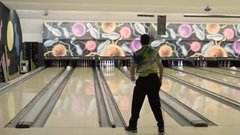 Thumbnail of The hidden oil patterns on bowling lanes