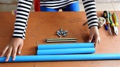 Thumbnail of Amazing Girl Uses PVC Pipe Compound BowFishing To Shoot Fish