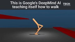 Thumbnail of Google's DeepMind AI just taught itself to walk