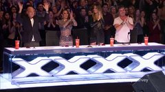 Thumbnail of Simon more Emotional in Deaf Girl Audition 2017