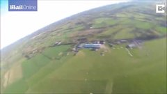 Thumbnail of Paraglider crashes to Earth...and lives