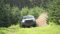 Thumbnail of Ford Raptor suspension when a're off road