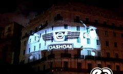 Thumbnail of Monumental Video Projection