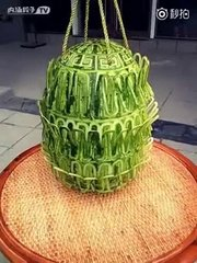 Thumbnail of Interlocking Carved Watermelon Cage