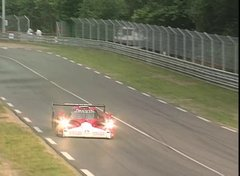 Thumbnail of Le Mans 1999 - Peter Dumbreck's HUGE accident! Mercedes CLR-GT1 CRASH!