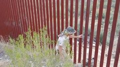 Thumbnail of Man Shows Easy Way to Get Over the American-Mexican Border