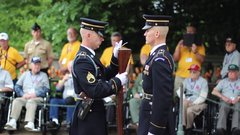 Thumbnail of Guard Commander Inspection - Arlington National Cemetery