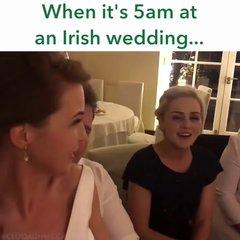 Thumbnail of When it's 5 a.m. at an Irish Wedding - Ho, Ro, the rattlin' Bog