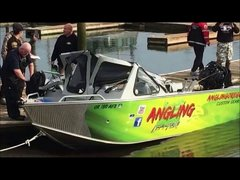 Thumbnail of Speeding powerboat runs over smaller fishing boat