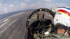 Thumbnail of F/A-18F Carrier Break
