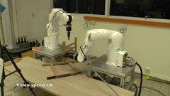 Thumbnail of A robot assembling an IKEA chair - Francisco Suárez-Ruiz, Science Robotics