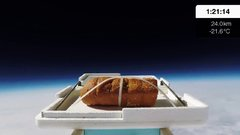 Thumbnail of We Sent Garlic Bread to the Edge of Space, Then Ate It