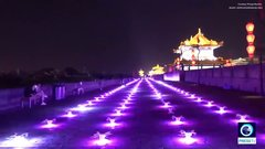 Thumbnail of 1,300 drones light up the sky of Xi'an, China