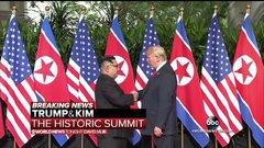 Thumbnail of President Trump meets with North Korean leader Kim Jong Un