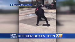 Thumbnail of Video Of Officer Boxing With Texas Teen Goes Viral