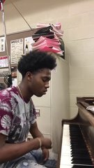 Thumbnail of Guy with disability followed his dream to play the piano.