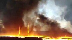 Thumbnail of Mesmerising 'firenado'.
