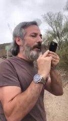 Thumbnail of Home owner yelling at hiker on Hawes Trail Loop Mesa AZ