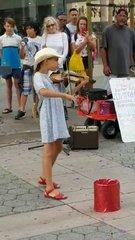 Thumbnail of Amazing young girl playing Despacito on a violin.