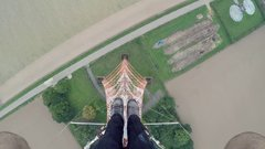 Thumbnail of Scariest BASE JUMP Exit Ever?