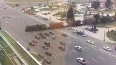 Thumbnail of Train Crosses Motorway With No Warning