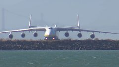 Thumbnail of The Worlds Largest Airplane Landing in Oakland California ATC