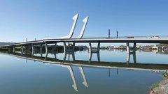 Thumbnail of Lower Hatea River Crossing - Te Matau ? Pohe, Whangarei, New Zealand