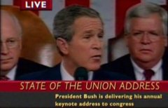 Thumbnail of Bush' State of the Union (edited)