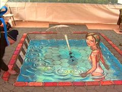 """Thumbnail of How the """"Pavement Picasso"""" does it"""