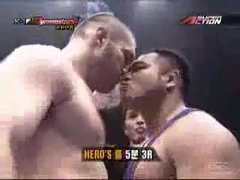 Thumbnail of Never kiss the guy during a stare down