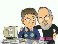 Thumbnail of Gates vs Jobs