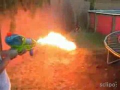 Thumbnail of Home made flame thrower