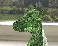 Thumbnail of Optical illusion: dragon