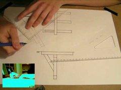 Thumbnail of Drawing plans before computer era
