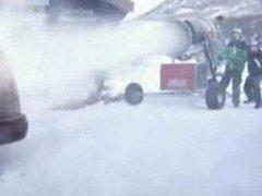 Thumbnail of Cruel snow cannon joke
