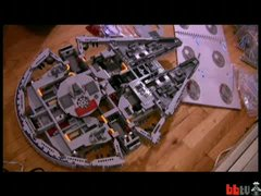 Thumbnail of Star Wars battleship made with LEGO pieces