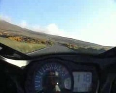 Thumbnail of Crazy motorcycle journey at 175mph