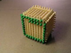 Thumbnail of Matchstick Cube