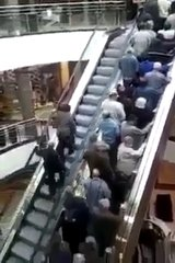 Thumbnail of Plan B when one escalator is too crowed