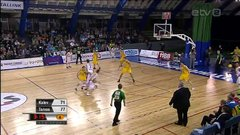 Thumbnail of Impossible shot in Estonian basketball league