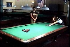 Thumbnail of First pool shot