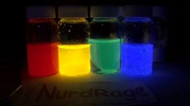 Как сделать в домашних условиях светящиеся жидкость 23